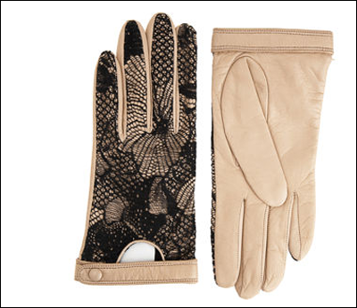 XMAS WISHLIST ITEM #5 Now these gloves aren't somthing I'd ever buy for myself. Their one of those things you really want but you can't bring yourself to actually buy. That's why it belongs right here on my wishlist. So delicately sexy, these 'Rosie Driving Gloves' by 3.1 Phillip Lim, could become a necessity for the winter. Instead of having knit gloves that, A.) Soak through when they get wet, and B.) Don't allow you to text, touch, navigate anything on you're Blackberry, iPhone, iPod, etc., you could be a little hottie with these chantilly laced gloves. Oh yeah, and they're fcking $325 bucks a pop. F that, go to Aldo or H&M and get some knock-off ones…yeah I said it…SO?!?  xoxo-RIK