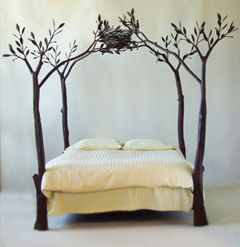 I want this bed … www.slmetalworks.com