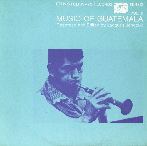 Album Cover: Music of Guatemala. In the key of c.