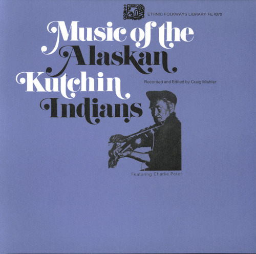 Album Cover: Swash. Music of the Alaskan Kutchin Indians.