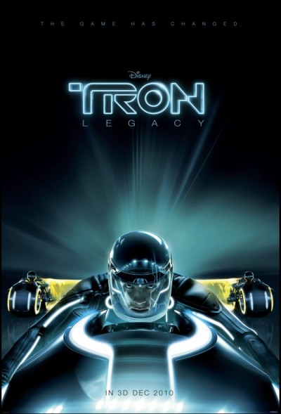 I'm a bit dubious about Tron Legacy. It's either going to be awesome, or another questionable sequel made years after the original. Obviously hoping for the former, and this teaser poster can't help but excite me a little…