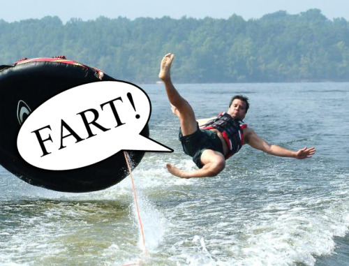 Fart Related Wipeout
