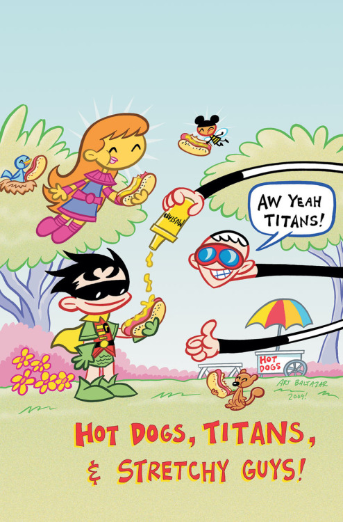 Tiny Titans #22 by Art Baltazar and Franco Aureliani