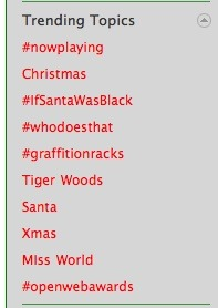 Haha Tiger Woods' still remains the top #6 trending topic on twitter.. and one good laugh! Check it out.
