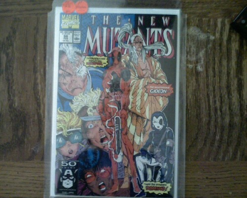 MY copy of New Mutants NM condition =)