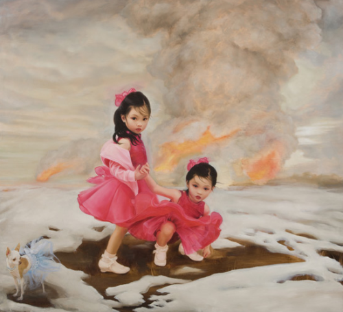 Girls in a Peril by Gretchen Ryan, 2009