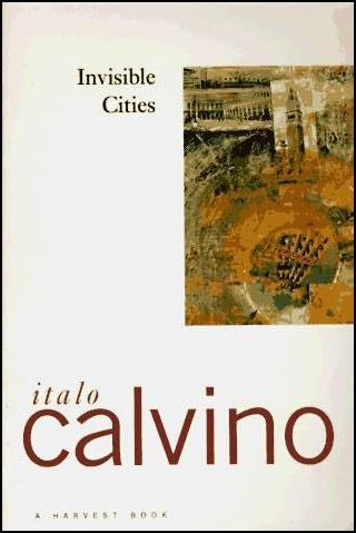 #50: Invisible Cities by Italo Calvino As a huge fan of Calvino's If on a winter night a traveler, I thought this book would be a nice follow-up. The story portayed here, however, was completely unlike the style of what I had imagined in that it's not necessarily a story, but a continuous description of the way people live. I found it strange to read about imagined cities while living in a particularly well known one. Every description reminded me of New York in some fashion or another, especially in that sometimes I think this metropolis is something we all made up to make ourselves feel important. Anyhow, Calvino consistantly uses a language that doesn't quite compare to anything else. It tends to envelop the reader and place her in a world much that feels a lot like this. My copy of Invisible Cities from the library had multiple margin notes and pencil underlines from previous readers, which added to the experience of knowning that just like an imaginary city, books about the subject can also be communal.