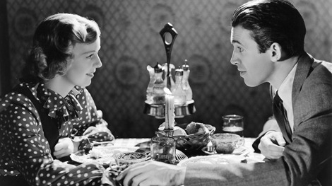Jimmy with Margaret Sullavan in The Shop Around The Corner (1940)