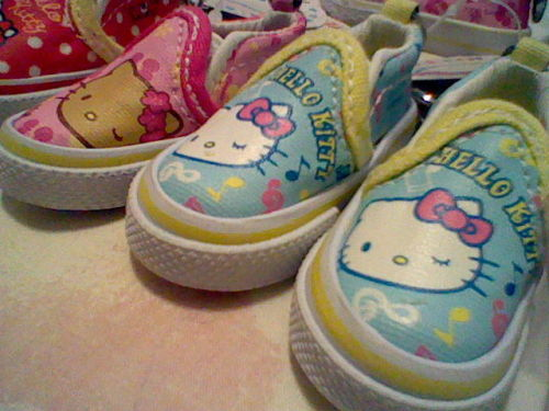 HK keychain shoes! :D