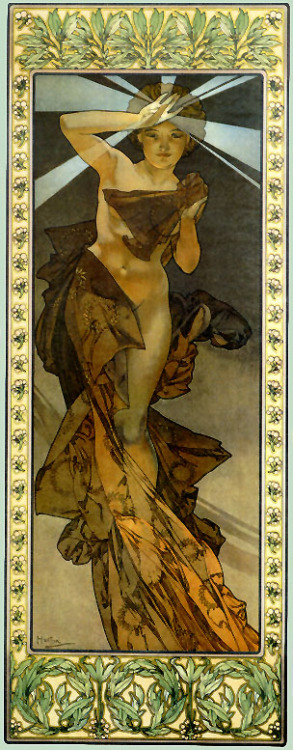 exclamationmark:Morning Star (1902) by Alphonse Mucha.