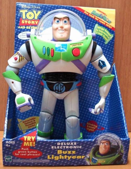 Do you have a Buzz Lightyear toy ?