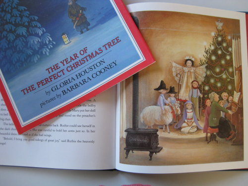 libraryland:  One of my favorite Christmas books with wonderful pictures by Barbara Cooney (Miss Rumphius).  (Submitted by russann)  Ah! I love Ruthie!