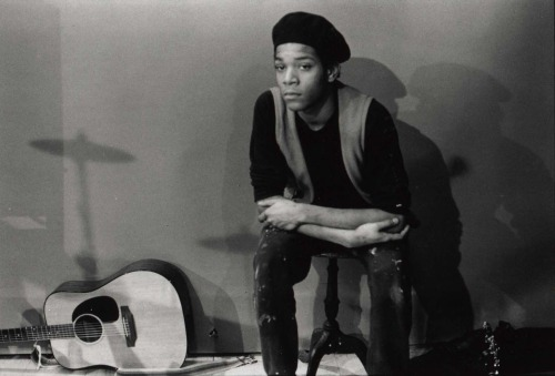 Jean-Michel Basquiat. (photograph by Bobby Grossman)