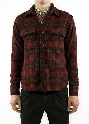 Woolrich Woolen Mills Plaid Shirt Jacket