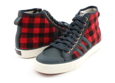 adidas Originals Plaid Nizza Sneaker.