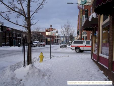i love my snowy city <3  Flagstaff, AZ