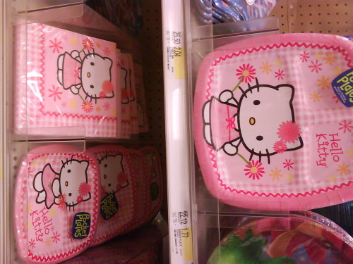 hello kitty party plates and napkins.  submitted by eatmorenutella