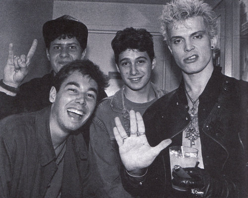 beastieboys:Beastie Boys with Billy Idol