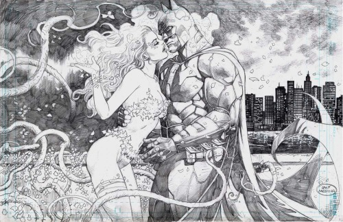Batman/Poison Ivy - Just one kiss by Lan Medina