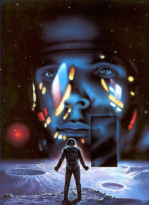 Painting of 2001: A Space Odyssey (via Vectro Ave)