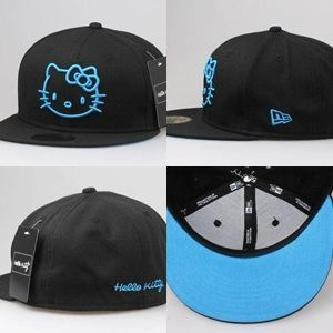 Black & Light Blue HK Fitted  Submitted by ohkatie