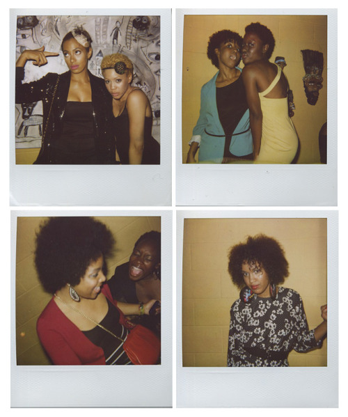 "The polaroids on Solange's new blog (aptly titled ""My Damn Blog"") are so delightful. Between the much talked about ""big chop"" and her fun, eclectic vibe I'm really looking forward to seeing what she has in store for the future. On a very related note, I recommend the lovely Clutch magazine piece Black Women And The Black Women We Don't Get by La'Juanda ""LJ"" Knight, a musing on the antagonism that many brown ladies face when they express themselves 'outside of the box.' (Thanks to Andrea for the heads up!)"