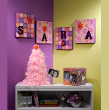 Name Wall Art | FaveCrafts.com