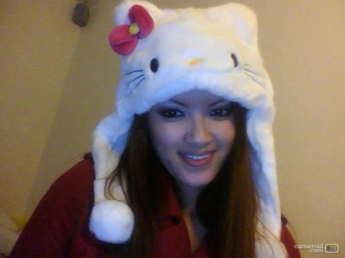 hello-kitty beanie<3 model CAMAY DEE  Submitted by jasmineyx3