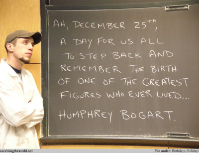 Who the hell is Humphrey Bogart? ö