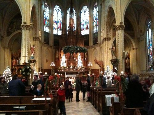St. Stanislaus in Cleveland on Christmas