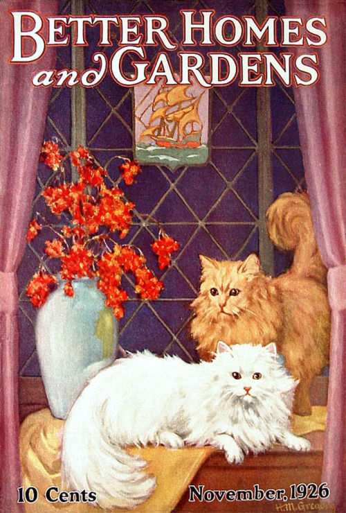 OH MY GOD 1920S CATS