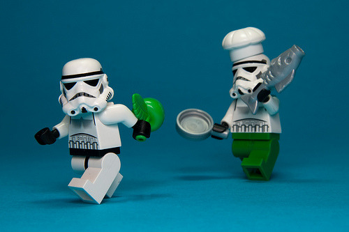 "LEGO ""Trouble in the Kitchen"" (via KWG73)"