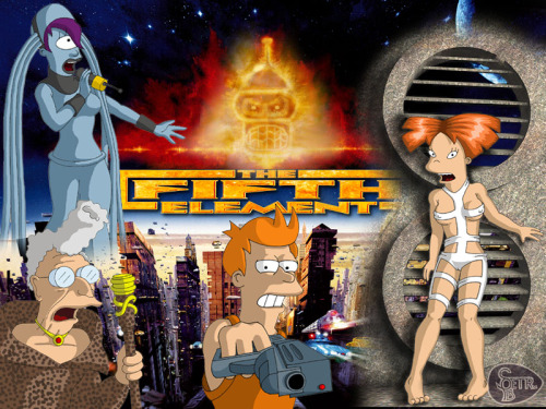 Futurama + The Fifth Element