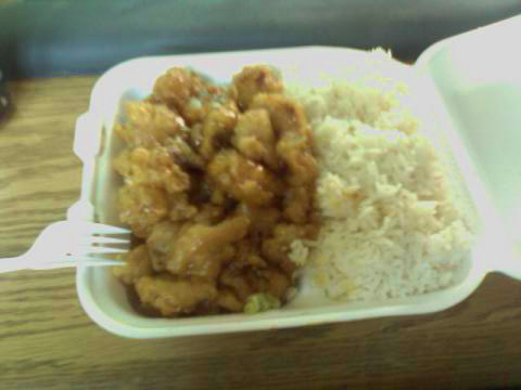 General Tso's combo New China, Cordova TN submitted by emily