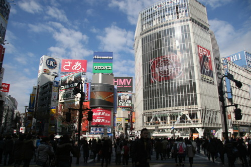 "Yesterday was shopping in Akiba for otaku stuff, today was shopping in Shibuya for girly stuff. Lots and looots of awesome sales around the place. Especially in H&M! Surprisingly enough. Yes, I am in Japan, and I went and visited American stores. But I am justified, because the stuff inside is totally different, and the sales prices are way better than at home (which is a bit surprising, because the regular prices are SO MUCH o___o). I spent about as much as I did yesterday on figure stuff, just on clothes…despite the fact that this time I have a credit card to use. ^^; Dangerous grounds, leafy, dangerous grounds. I felt like that ditzy girl in shopaholic… Me: Okay leaf, do you NEED this? Do you REALLY NEED this??Girl: Oh and by the way, this is the last one.Me: I'mbuyingitkthx. To be fair on myself, I refused to buy anything which is remotely close to anything I can buy at home, or stuff which I can get cheaper at home, so yeah. As a result, ended up with stuff like 3 pairs of tights for $10, and a very Asian-looking coat (the one that was the last on the rack. $70 man!). So yeah, my opinion of Japanese prices is still ""wow, expensive"" but coupled with ""wow, they have *really good* sales compared to at home …. Having said that, I failed to find the one thing I really was looking for: a nice pair of walking shoes (that aren't sneakers). All their shoes are either really, really nice heels or super punk/goth flats. So yeah. Kind of disappointing … Also, in the 109 rise, all the skirts - and I mean ALL - are like, butt-high. So the only skirts I even looked at were in Uniqlo and H&M. ^^; Anyway, exciting experience! But not nearly as exciting as me finally getting my Sebastian nendoroid and my Drossel figma in Akiba! So I guess I'm still more of an otaku. :P"