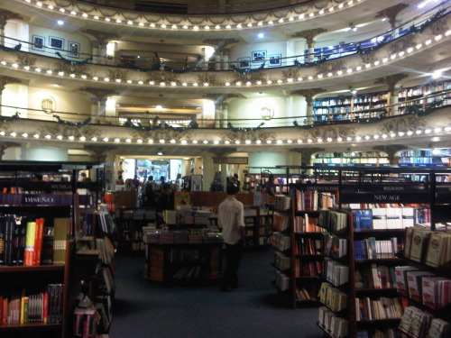 El Ateneo, Buenos Aires: Theater turned into bookstore