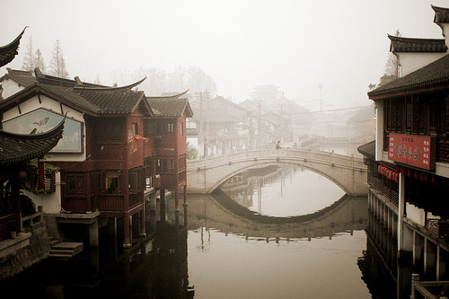 travelhighlights:  Qibao Old Town by Sarah Bernhard Shanghai, China Via evoke:hydrogen