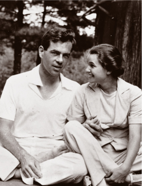 joseph campbell & jean erdman, 1939   love is a friendship set to music* ~joseph campbell
