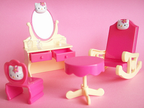 Hello Kitty Miniature Toy Furniture
