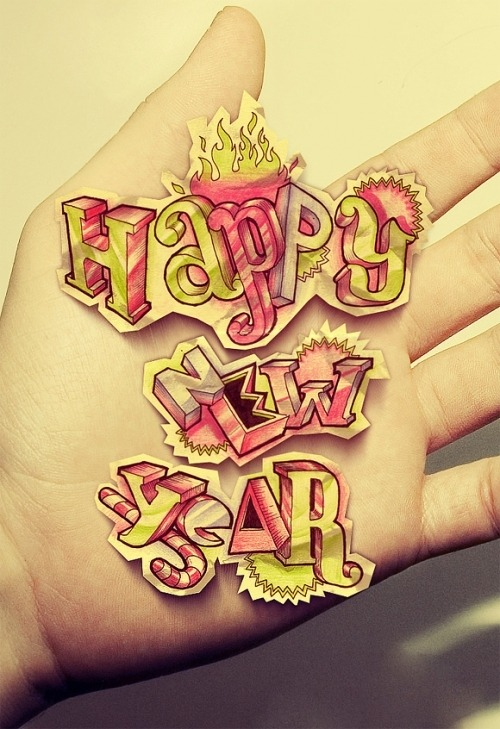 ladimailig:  crazeedreamgirl:  (via staree)  HAPPY NEW YEAR