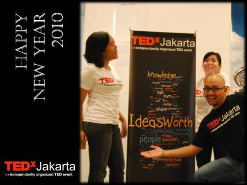 Happy New Years from the TEDxJakarta team!
