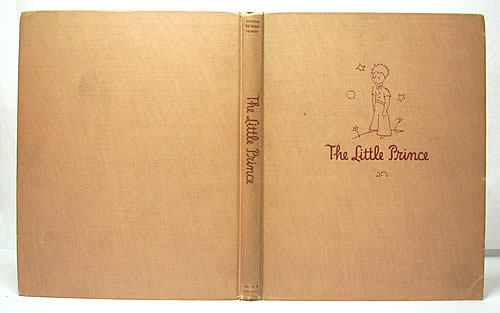 Signed 1st Edition of The Little Prince.  Although the most well known, this is not my favorite de Saint Exupery story, but it certainly is a beautiful book.  Additional images here, including signature page.  Via Powell's Rare Books.