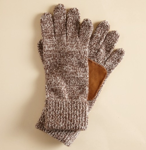 It's On Sale Suede-palm Ragg Gloves $19.96 (free shipping) from Martin + Osa