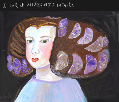Maira Kalman (…and her hair would make a nice plate)