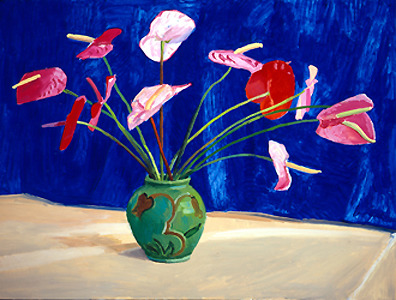 David Hockney / Anteriums 1995