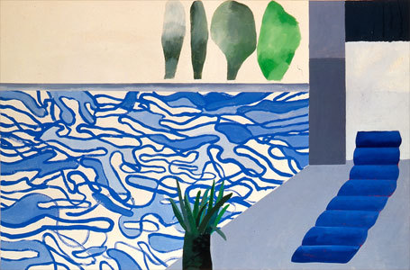 David Hockney / Hollywood swimming pool 1964