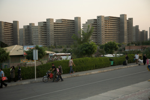 ekbatan city / teheran / iran read more about teheran's largest residential complex