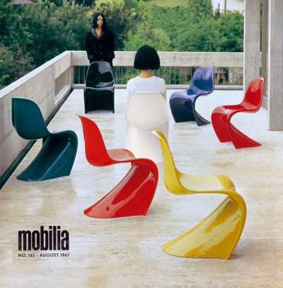 xtc:  Panton chair turns 50 | yatzer | Design Architecture Art Fashion +more