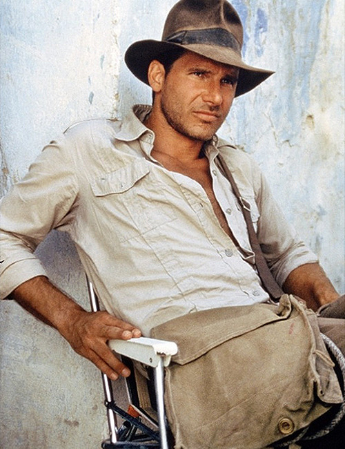kaktak:  Raiders of the Lost Ark - Harrison Ford  Perfection.