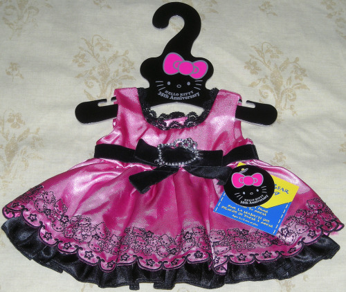Build-A-Bear 35th Anniversary Hello Kitty Dress  by Impossible-Princess